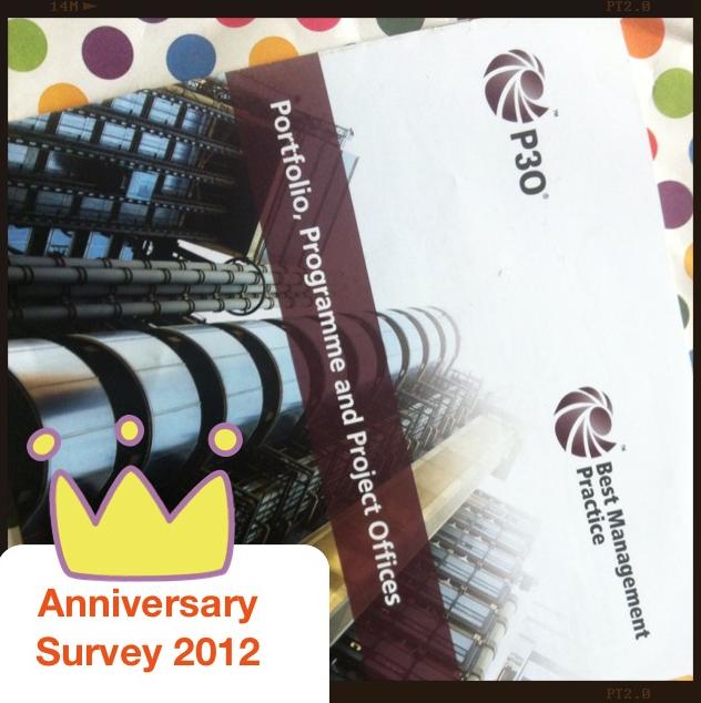 P3O Anniversary Survey 2012