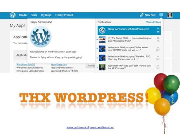 Congrats from WordPress. Thanks!